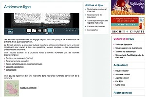 GénéInfos: Archives du Loir-et-Cher en ligne : c'est pour très bientôt... | Ca m'interpelle... | Scoop.it