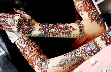 Latest Trend Of Mehandi Designs 2014 For Hands | EA Bridal Design | Scoop.it
