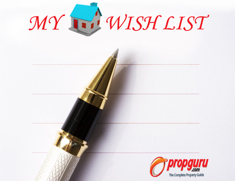 Wishlist - Your Entry to the World of Home Buying !! | Real Estate India | Scoop.it