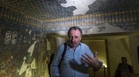 Toutankhamon: Il y aurait bien une chambre secrète dans la tombe du pharaon | Aux origines | Scoop.it