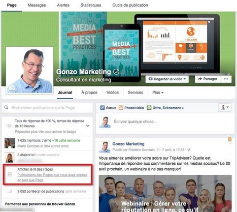 7 nouvelles fonctionnalités Facebook à utiliser dès maintenant ! | Bibliothèque et Techno | Scoop.it