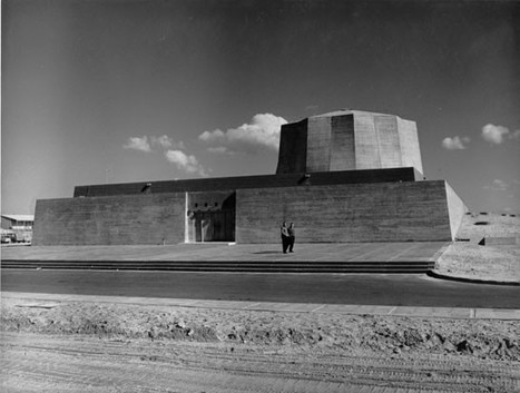Rehovot (Soreq) Nuclear Reactor by Philip Johnson, 1960-61 | Martin Kramer on the Middle East | Scoop.it