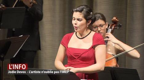 L'Imep a invité son ancienne élève Jodie Devos | Université de Namur | Scoop.it