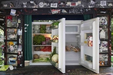 À Berlin, des frigos en libre service pour lutter contre le gaspillage | Dépenser Moins | Scoop.it