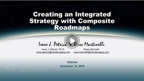 Composite Roadmaps: Key to Integrated Strategy | Leadership, Strategy & Management | Scoop.it