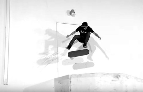 """Nyjah Huston's """"OMFG"""" Part with Thrasher Magazine 
