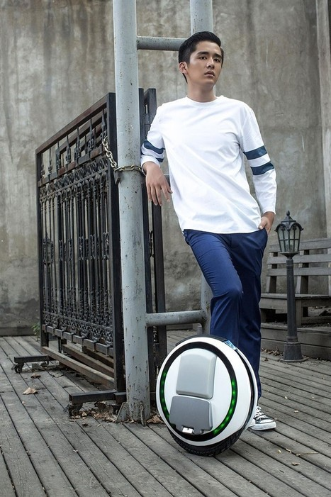 the ninebot one e+, a self balancing electric scooter for personal city travel | Urban Choreography | Scoop.it