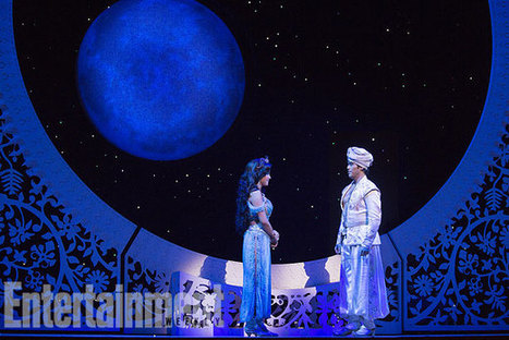 First look at 'Aladdin,' Disney's magical, Broadway-bound musical — EXCLUSIVE | EW.com | theatrical make up | Scoop.it