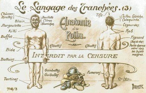 Le langage des tranchées   Centenaire de la Première Guerre Mondiale   Scoop.it