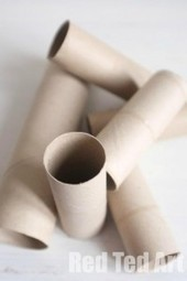 A selection of Cardboard Tube Crafts | Kids Making Projects | Scoop.it