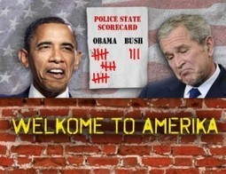 Obama Outdoing Bush, Cheney on Police State | MN News Hound | Scoop.it