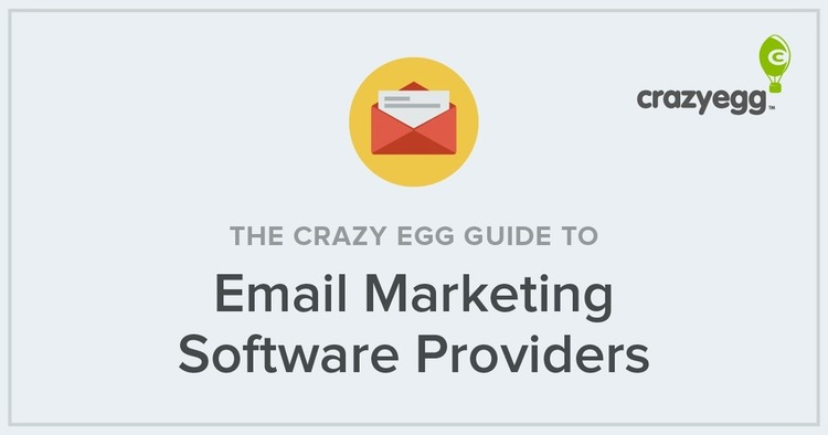Guide to Email Marketing Software Providers by Crazy Egg   The MarTech Digest   Scoop.it
