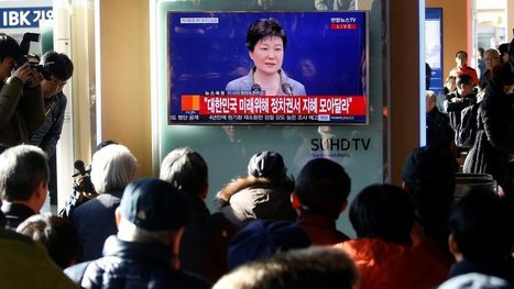 Park Geun-hye, Embattled South Korean President, Says She's Willing to Resign - NYTimes.com | Minions of Belial | Scoop.it