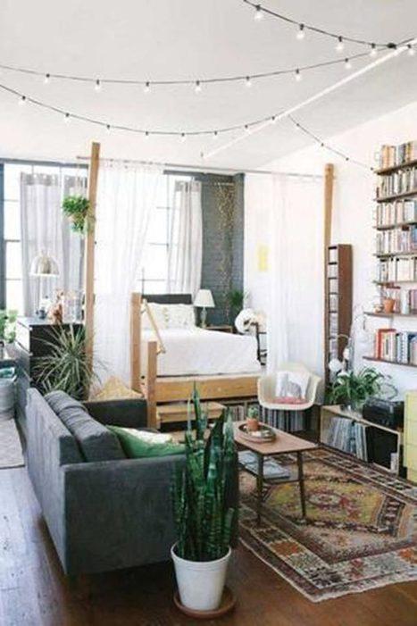 10 ejemplos sobre cómo decorar y amueblar un apartamento pequeño | Mil Ideas de Decoración | Decoración de interiores | Scoop.it