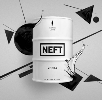 Neft – a vodka produzida nos campos de petróleo e engarrafada num barril.   30 prendas criativas que fazem toda a diferença!   Scoop.it