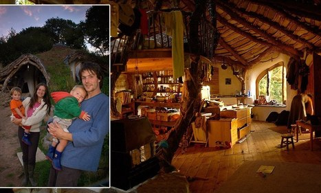 Our £3,000 Hobbit house: The family home dug from a hillside and built with scraps scavenged from skips | 'The Hobbit' Film | Scoop.it