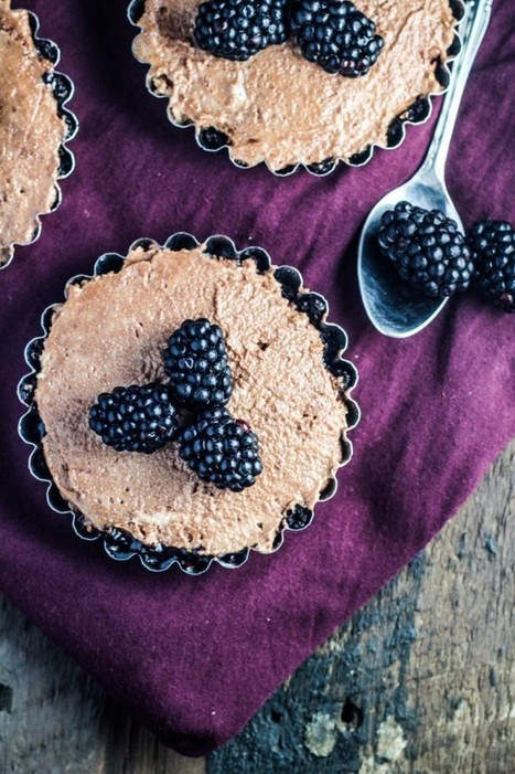 Chocolate Mousse and Blackberry Tartlet Recipe - CakeJournal | RECIPES WITH CHOCOLATE | Scoop.it
