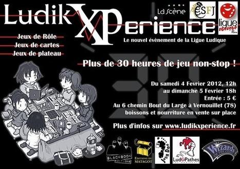 La LudikeXPerience, plus de 30 heures de jeu non-stop | SCRiiiPT | Jeux de Rôle - JDR | Scoop.it