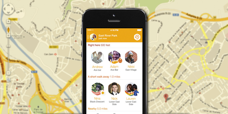 Swarm, la nueva aplicación de Foursquare ya está disponible | MSI | Scoop.it
