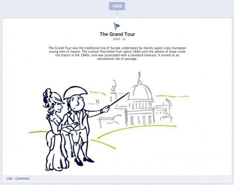 Unleash the Timeline: Creative use of Facebook brings home the history of travel | Tourism Social Media | Scoop.it