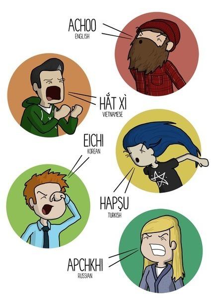 How To Sneeze In Ten Different Languages | Language news | Scoop.it