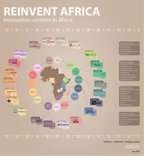 Infographie: les grands centres technologiques en Afrique | Actualités Afrique | Scoop.it