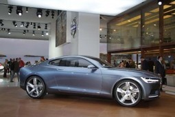 """Chief Designer Says Concept Coupe Captures """"Essence"""" of Volvo's Past and Future 