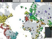 Newspaper Map. Une carte mondiale des journaux. | partage&collaboratif | Scoop.it