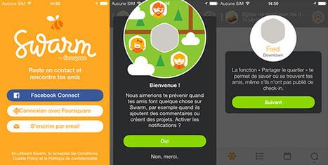 Swarm est disponible sur iOS ! | Application mobile | Scoop.it