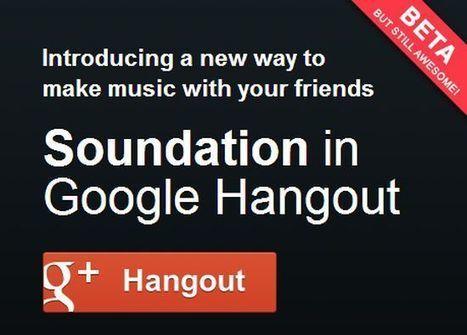 Soundation Hangout te permite crear tus propias piezas de música en Google+ | Edu-Recursos 2.0 | Scoop.it