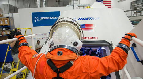Boeing To Unveil Crew, Spacesuits For CST-100 Test Flight This Summer | SpaceNews.com | The NewSpace Daily | Scoop.it