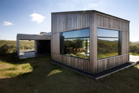 Sustainability From Top To Bottom: Locally Sourced Timber Clad Homes | sustainable architecture | Scoop.it