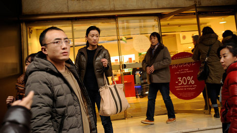 The Chinese, shoppers without frontiers... | Travel Retail | Scoop.it