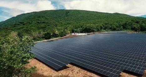 Une île entièrement alimentée à l'énergie solaire   Sale temps pour la planète   Scoop.it