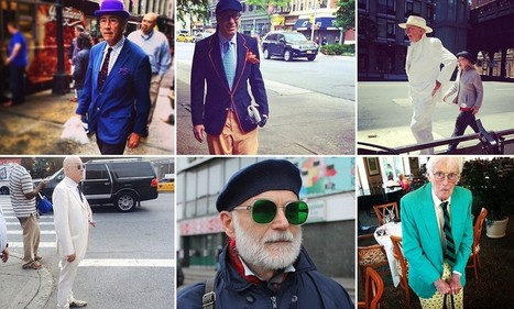 Meet the Fashion Grandpas! The unlikely new trendsetters gaining Instagram ... - Daily Mail | fashion | Scoop.it