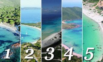 PALMARES. Les plus belles plages de Corse selon les internautes - Corse-Matin   Air Corsica   Scoop.it