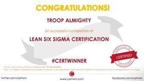 Tweet from @Certwin | Lean Six Sigma Green Belt | Scoop.it
