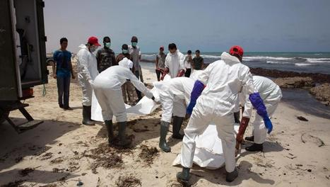 Migrants: des centaines de naufragés au large de la Crète, 117 corps en Libye | Maghreb-Machrek | Scoop.it