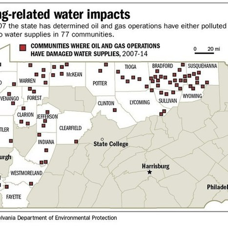 DEP: Oil and gas operations damaged water supplies 209 times since end of '07 | Sustain Our Earth | Scoop.it