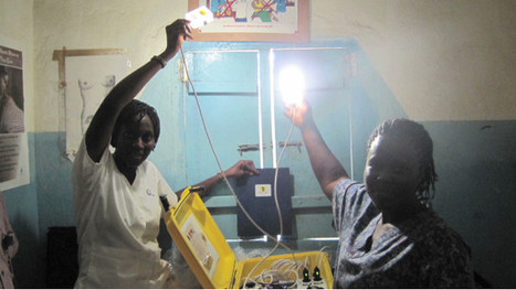 Lighting the way for safe childbirth | Science Wow Factor | Scoop.it