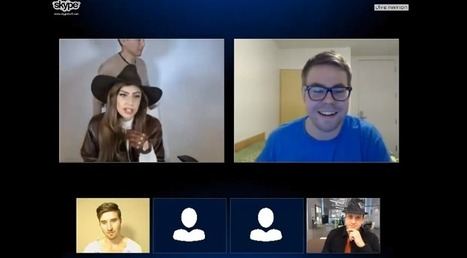 Video: Lady Gaga Talks To Fans Live on Skype! | JIMIPARADISE! | Scoop.it