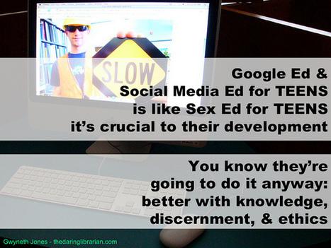 Google Ed - Sex Ed   Concrete_Digital_Footprints   Scoop.it
