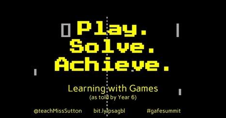 Play. Solve. Achieve. 2.0 | 21st Century School Libraries | Scoop.it