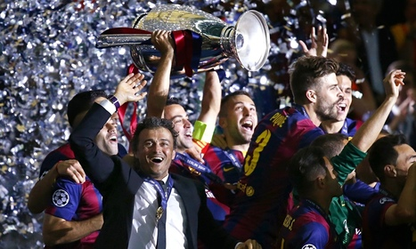 Luis Enrique to continue as Barcelona manager after Champions League win - The Guardian | AC Affairs | Scoop.it