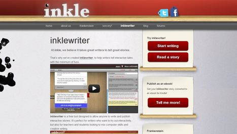 inklewriter - write interactive stories | Educatief Internet - Gespot op 't Web | Scoop.it