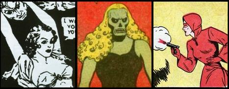Women's History Month Superheroine Spotlight: Olga Mesmer, Fantomah, and Woman in Red | Senior Seminar- Women, Comics, and WWII | Scoop.it
