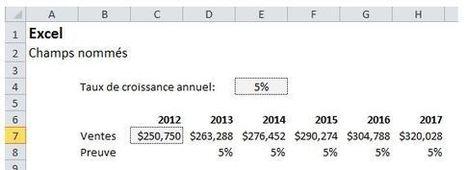 Excel: Aller plus loin avec les champs nommés   Modélisation financière   Scoop.it