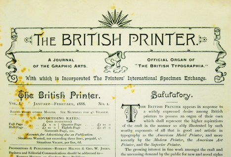 Graphic Design before Graphic Designers - Creative Review (blog) | Typography | Scoop.it