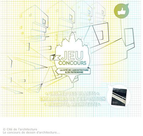 La Cité de l'architecture lance un concours de dessin… d'architecture - Culture - LeMoniteur.fr | The Architecture of the City | Scoop.it