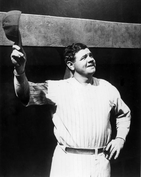 Babe Ruth - Can't Beat 'Em Join 'Em   the history of the babe ruth and the yankees   Scoop.it